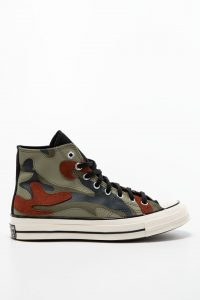 נעלי סניקרס קונברס לגברים Converse TRAMPKI CONVERSE - ירוק זית