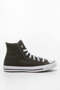 נעלי סניקרס קונברס לגברים Converse Color Leather Chuck Taylor All Star - אפור כהה
