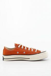 נעלי סניקרס קונברס לגברים Converse Vintage Canvas Chuck 70 - כתום