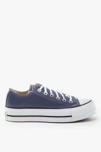 נעלי סניקרס קונברס לנשים Converse Chuck Taylor - כחול ג'ינס