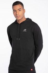 סווטשירט ניו באלאנס לגברים New Balance embroidery - שחור