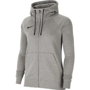 סווטשירט נייק לנשים Nike Park 20 Fleece FZ - אפור