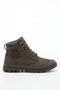 נעלי סניקרס פלדיום לגברים Palladium SHD WP + LUX Major - חום