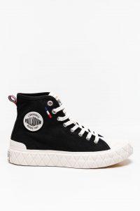נעלי סניקרס פלדיום לגברים Palladium PALLA ACE CVS MID - שחור