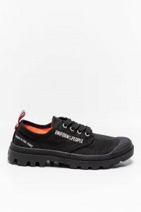 נעלי סניקרס פלדיום לגברים Palladium PAMPA OX PUOTP - שחור