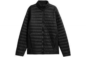 ג'קט ומעיל פור אף לגברים 4F H4Z21 KUMP003 - שחור