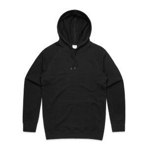 סווטשירט אס קולור לגברים As Colour premium hood - שחור