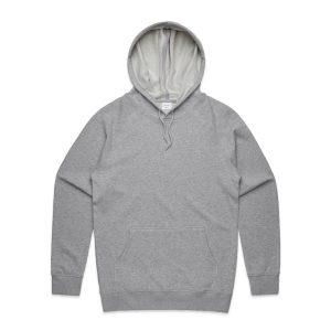 סווטשירט אס קולור לגברים As Colour premium hood - אפור