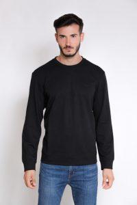 סווטשירט קלווין קליין לגברים Calvin Klein BLK LOGO - שחור