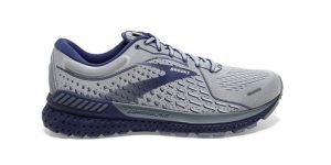 נעלי ריצה ברוקס לגברים Brooks Adrenaline GTS 21 - אפור/כחול