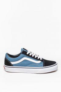 נעלי סניקרס ואנס לגברים Vans Old Skool NVY - כחול/שחור