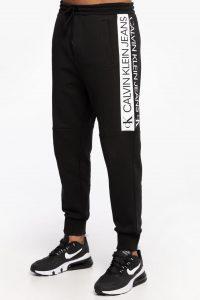 מכנס ספורט קלווין קליין לגברים Calvin Klein MIRROR LOGO - שחור
