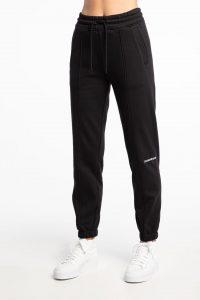 מכנסיים ארוכים קלווין קליין לנשים Calvin Klein OFF PLACED MONOGRAM JOGGING - שחור