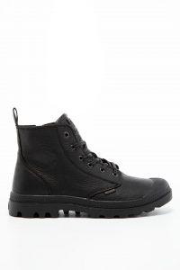 נעלי סניקרס פלדיום לגברים Palladium PAMPA ZIP LTH ESS - שחור