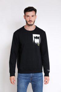 סווטשירט קלווין קליין לגברים Calvin Klein GTE - שחור