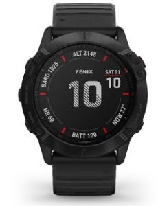 שעון גרמין לגברים Garmin fenix 6X Pro - שחור