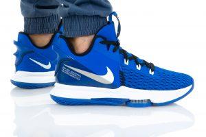 נעלי כדורסל נייק לגברים Nike LEBRON WITNESS V - כחול נייבי