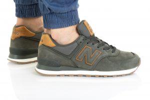 נעלי סניקרס ניו באלאנס לגברים New Balance ML574 - ירוק