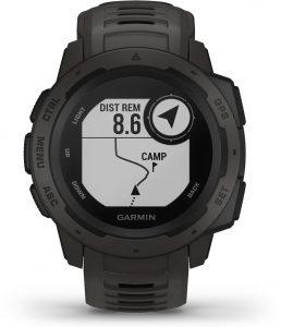 שעון גרמין לגברים Garmin Instinct - שחור
