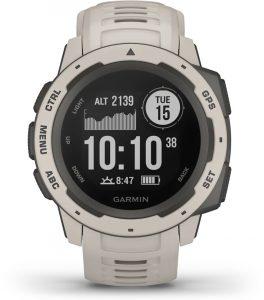 שעון גרמין לגברים Garmin Instinct - לבן