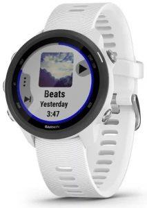 שעון גרמין לגברים Garmin Forerunner 245 Music - לבן