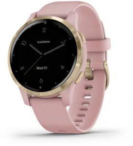 שעון גרמין לגברים Garmin Vivoactive 4s - ורוד