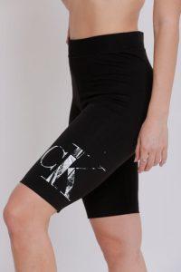 טייץ קלווין קליין לנשים Calvin Klein rubb - שחור