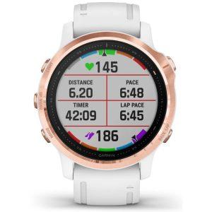 שעון גרמין לגברים Garmin fenix 6S Pro - לבן