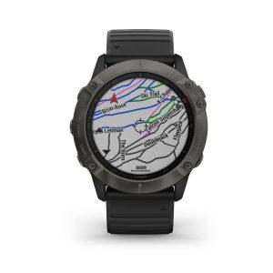 שעון גרמין לגברים Garmin fenix 6X Sapphire - שחור