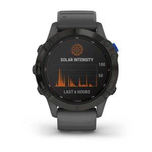 שעון גרמין לגברים Garmin fenix 6 Pro Solar - שחור