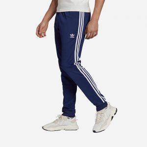 מכנסיים ארוכים אדידס לגברים Adidas Originals Adicolor Classics - כחול
