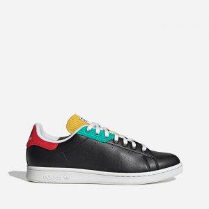 נעלי סניקרס אדידס לגברים Adidas Originals Stan Smith - שחור