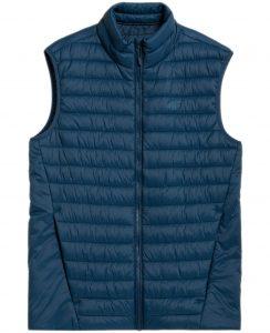 ג'קט ומעיל פור אף לגברים 4F H4Z21 KUMP001 - כחול