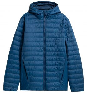 ג'קט ומעיל פור אף לגברים 4F H4Z21 KUMP004 - כחול