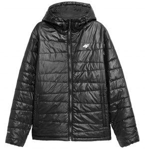 ג'קט ומעיל פור אף לגברים 4F H4Z21 KUMP005 - שחור