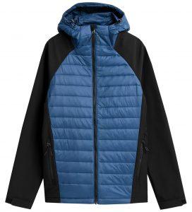ג'קט ומעיל פור אף לגברים 4F H4Z21 SFM003 - כחול