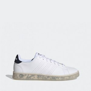 נעלי סניקרס אדידס לגברים Adidas Advantage - לבן