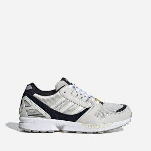 נעלי סניקרס אדידס לגברים Adidas Originals ZX 8000 - אפור/שחור