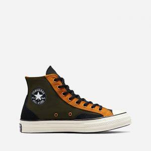 נעלי סניקרס קונברס לגברים Converse Court Reimagined Chuck 70 Court - ירוק