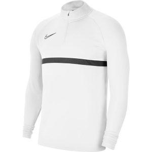 ג'קט ומעיל נייק לגברים Nike Academy 21 Dril Top - לבן