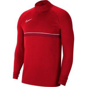 ג'קט ומעיל נייק לגברים Nike Academy 21 Dril Top - אדום יין