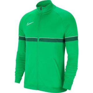 ג'קט ומעיל נייק לגברים Nike Academy 21 Track Jacket - ירוק