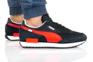נעלי סניקרס פומה לגברים PUMA FUTURE RDER IVINTAGE - שחור
