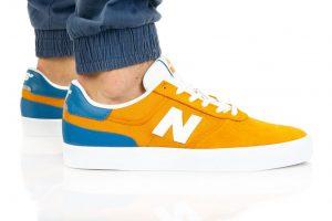 נעלי סניקרס ניו באלאנס לגברים New Balance NM272 - כחול/צהוב