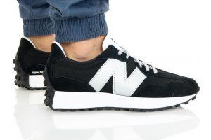 נעלי סניקרס ניו באלאנס לגברים New Balance MS327 - לבן/שחור