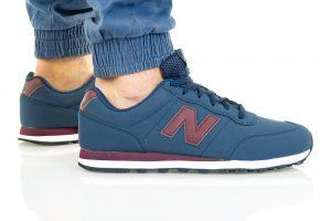נעלי סניקרס ניו באלאנס לגברים New Balance GM400 - כחול/אדום