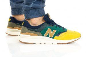נעלי סניקרס ניו באלאנס לגברים New Balance CM997 - ירוק
