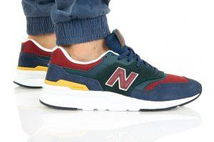 נעלי סניקרס ניו באלאנס לגברים New Balance CM997 - צבעוני כהה