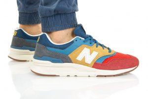 נעלי סניקרס ניו באלאנס לגברים New Balance CM997 - צבעוני