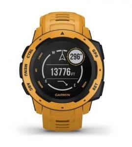 שעון גרמין לגברים Garmin Instinct - צהוב